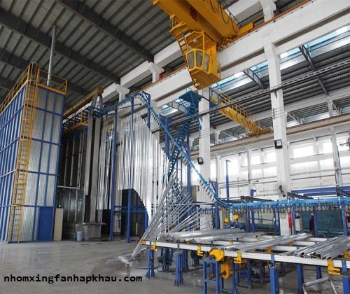 công nghệ sản xuất cửa nhôm xingfa nhập khẩu 1