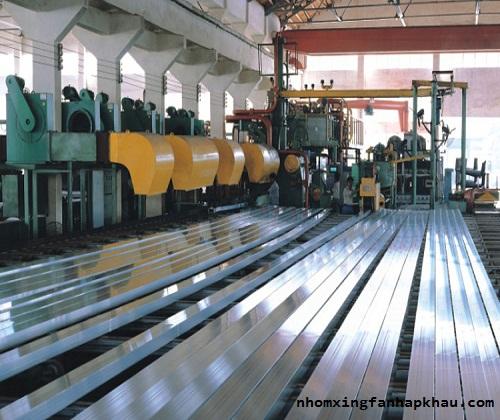 công nghệ sản xuất cửa nhôm xingfa nhập khẩu 5