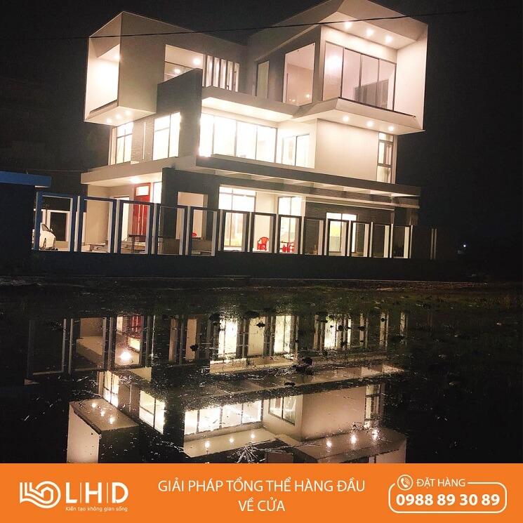 Công trình cửa nhôm XINGFA tại Giao Thủy - Nam Định