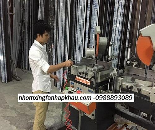 cửa nhôm hệ xingfa, máy sản xuất nhôm hệ xingfa nhập khẩu cao cấp