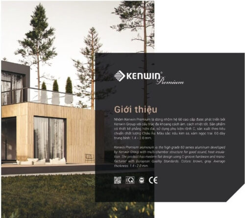 cửa nhôm kenwin premium2