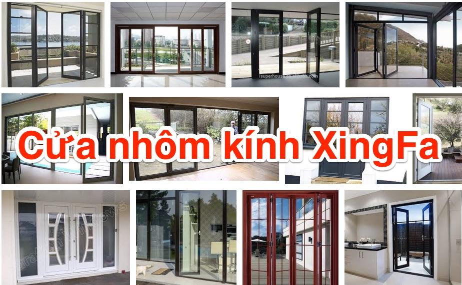 cửa ra vào và cửa sổ bằng nhôm Xingfa