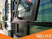 cửa sổ mở hất nhôm xingfa 123 4