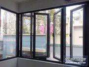 cửa sổ mở quay 4 cánh nhôm xingfa