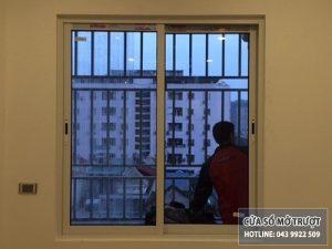 cửa sổ mở trượt nhôm xingfa đẹp