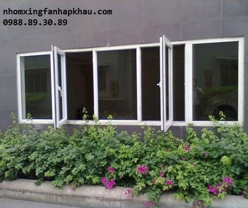 cửa sổ nhôm kính 4 cánh 1