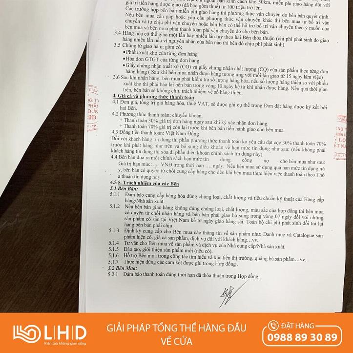 hợp đồng nguyên tắc giữa lhd và kinlong 2020 1