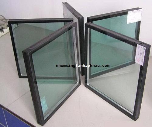 cửa nhôm xingfa dùng kính hộp hút chân không