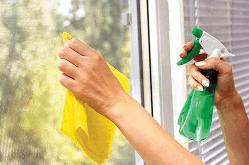 phương pháp làm sạch cửa nhôm kính Xingfa