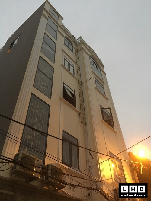 công trình tại Nguyễn Khoái Hà Nội