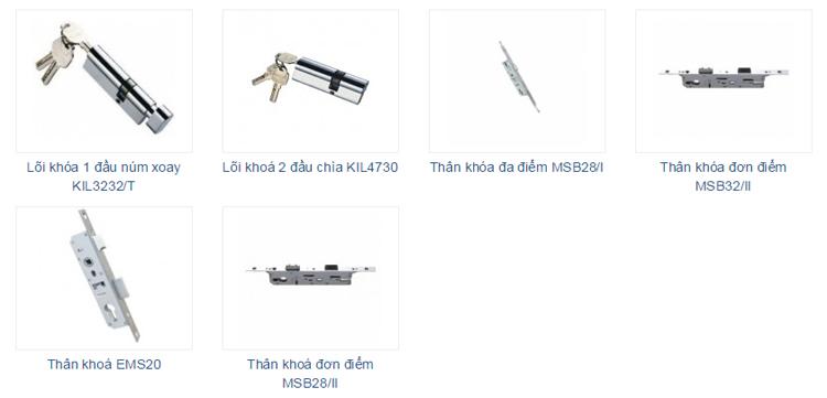 lõi khóa thân khóa kinlong