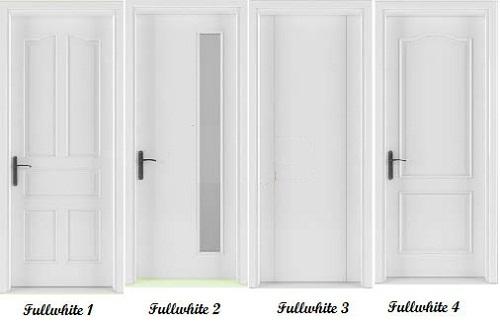 cửa gỗ solitek fullwhite