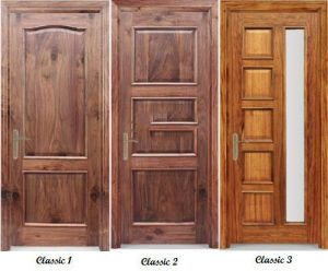 cửa gỗ solitek