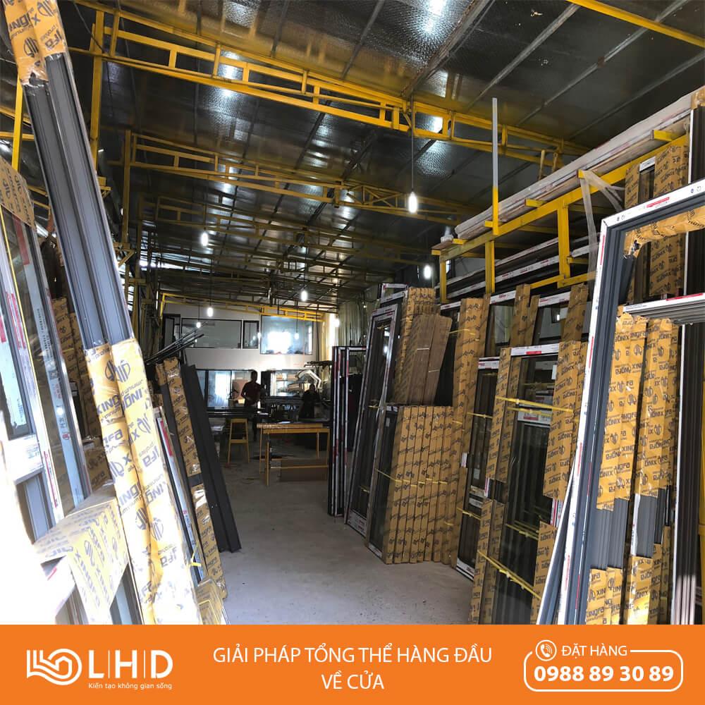 nhà máy sản xuất cửa nhôm XINGFA lhdgroup 1