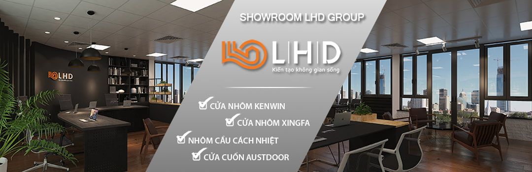 slide showroom cửa nhôm xingfa lhd group