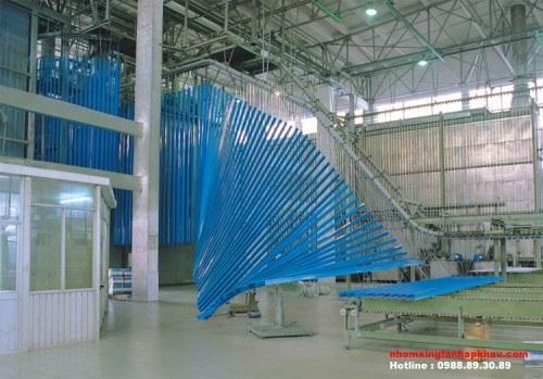 Công nghệ sơn tĩnh điện - nhà máy Nhôm Xingfa Quảng Đông