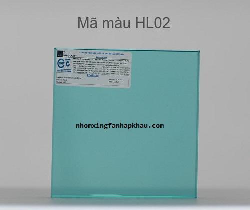 Tìm hiểu cửa nhôm sử dụng kính dán an toàn mã màu 02