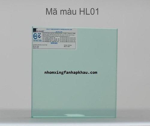 Tìm hiểu cửa nhôm sử dụng kính dán an toàn mã màu 01